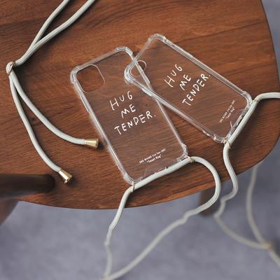 iPhone case (Hug me tender/for iPhoneXR,11)