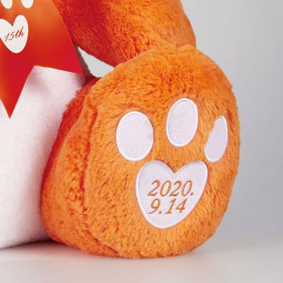 【受注販売】AAA 15th Anniversary え~パンダ BIGぬいぐるみ(オレンジ)