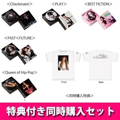 【特典付き同時購入セット】Namie Amuro PLAYBUTTONコンプリートセット