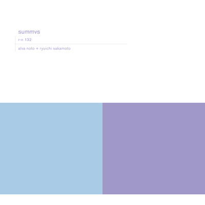 alva noto+ryuichi skamoto「summvs」(輸入盤)【オリジナルTシャツ白(L)付き限定セット】