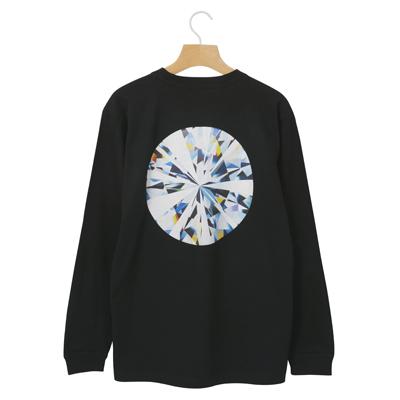 《NEWMOON》ロングスリーブTシャツ(BLACK/M)