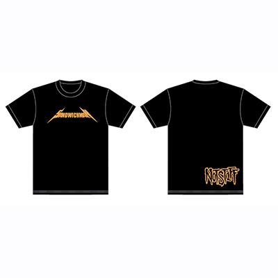 サンドウィッチマン ノットスタッフ Tシャツ オレンジ サイズM