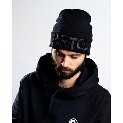 PRTCL Beanie - black on black