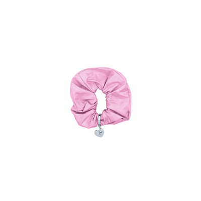 [H.Y.L.T] BLACKPINK METALLIC SCRUNCHIE PINK