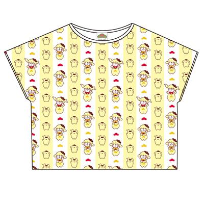 おそ松さん×Sanrio characters 総柄Tシャツ(十四松)