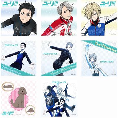 ユーリ!!! on ICE トレーディングマイクロファイバーミニタオル(BOX)