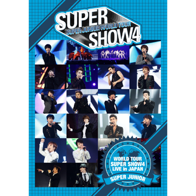 SUPER JUNIOR WORLD TOUR SUPER SHOW4 LIVE in JAPAN