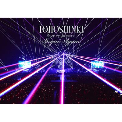 東方神起 LIVE TOUR 2017 ~Begin Again~(2枚組DVD)