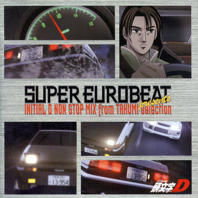 SUPER EUROBEAT presents 頭文字[イニシャル]D NON-STOP MIX from TAKUMI-selection