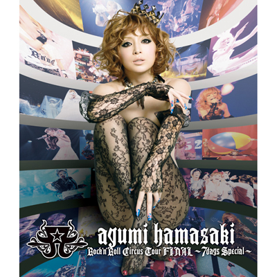 ayumi hamasaki Rock'n'Roll Circus Tour FINAL ~7days Special~(Blu-ray)