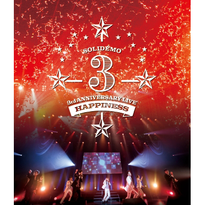 SOLIDEMO 3rd ANNIVERSARY LIVE Happiness(Blu-ray)