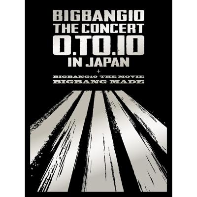 BIGBANG10 THE CONCERT : 0.TO.10 IN JAPAN + BIGBANG10 THE MOVIE BIGBANG MADE【初回生産限定盤】(3枚組Blu-ray+2枚組CD+PHOTO BOOK+スマプラ)