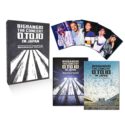 BIGBANG10 THE CONCERT : 0.TO.10 IN JAPAN + BIGBANG10 THE MOVIE BIGBANG MADE【初回生産限定盤】(3枚組Blu-ray+2枚組CD+PHOTO BOOK+スマプラ)