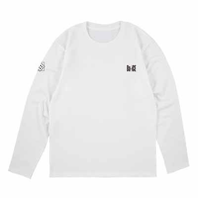 ロングスリーブTシャツ_ホワイト