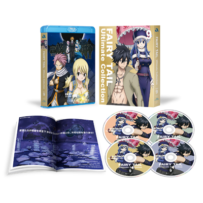 FAIRY TAIL -Ultimate collection- Vol.9(4枚組Blu-ray)