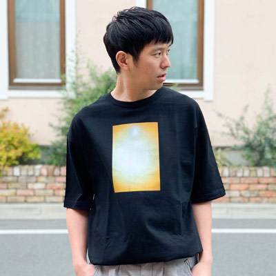 CLIPS TEE:BLACK