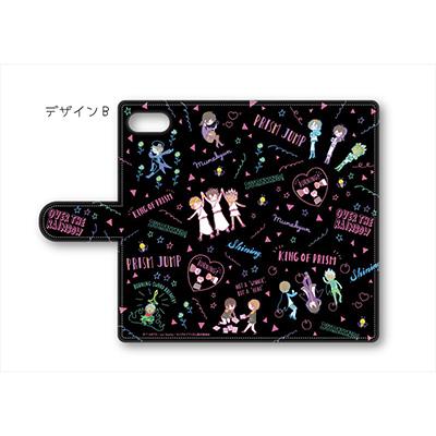 KING OF PRISM 手帳型スマホケース B【NEON】マルチタイプL