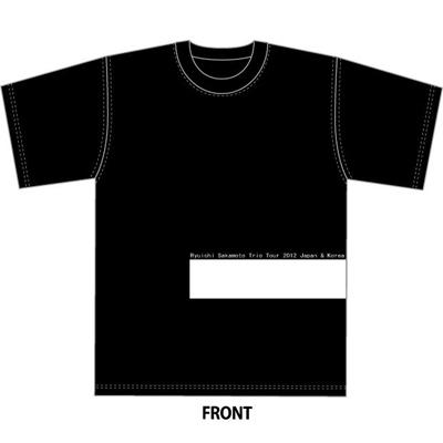 「Ryuichi Sakamoto | Trio Tour 2012 Japan & Korea」Tシャツ