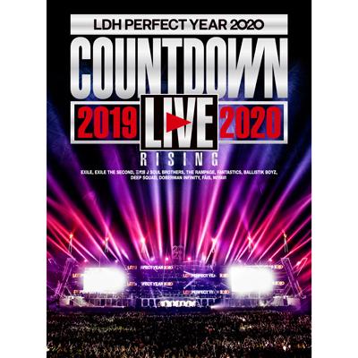 "LDH PERFECT YEAR 2020 COUNTDOWN LIVE 2019→2020 ""RISING""(2DVD)"
