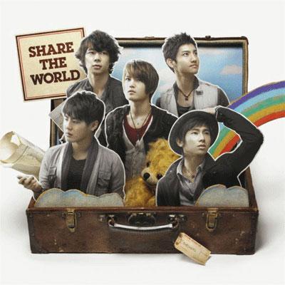 Share The World / ウィーアー!(CDのみ仕様)