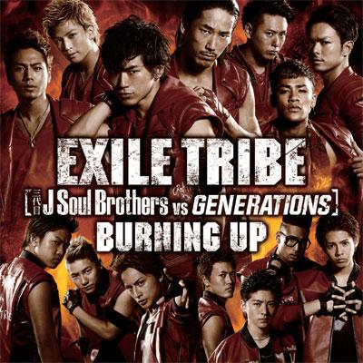BURNING UP【CDシングル+DVD】