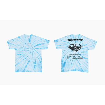 [TREASURE MAP] TREASURE T-SHIRTS TYPE 1 TIE DYE