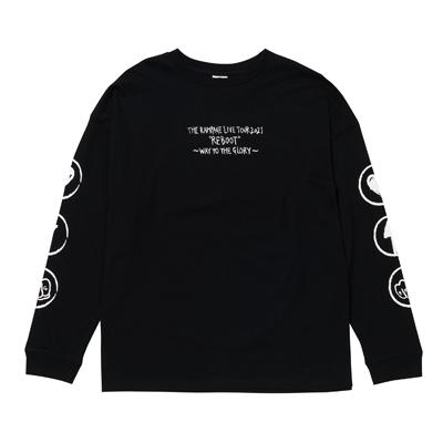REBOOT ロングスリーブTシャツ/BLACK
