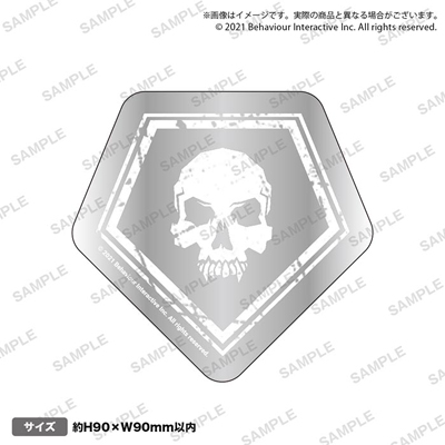 【Dead by Daylight】ダイカットステッカー(シルバーver) キラーでプレイ