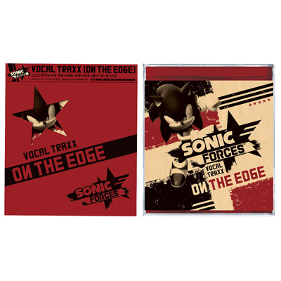 Sonic Forces Vocal Traxx - On The Edge(CD)