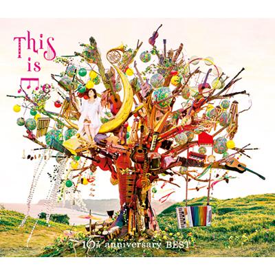 THIS IS ME~絢香 10th anniversary BEST~【初回生産限定盤】(3枚組CD+DVD)