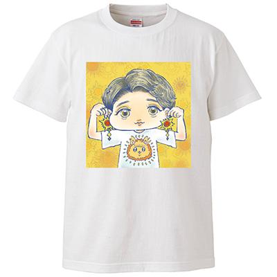 【受注生産】あき姉SUNSUNTシャツ(白)