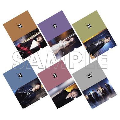 クリアファイル(全6種)