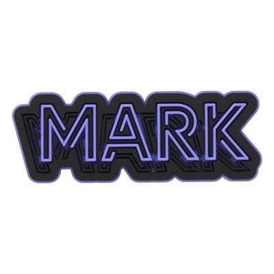 ラバーステッカー(MARK)