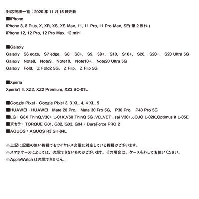 ワイヤレスモバイルチャージャー_集合