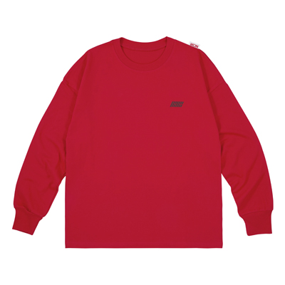 ロングスリーブTシャツ(RED/M)