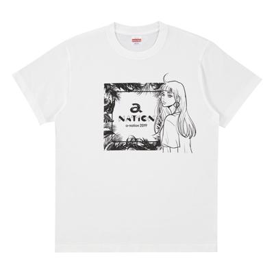 Tシャツ(WHITE)S