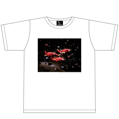 Yellow Magic OrchestraフォトTシャツ:遊泳【白】(XS)