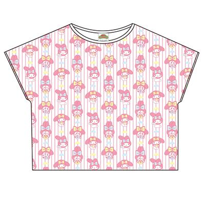 おそ松さん×Sanrio characters 総柄Tシャツ(トド松)
