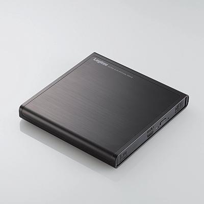 ロジテック(エレコム) DVDドライブ/USB2.0/ブラック