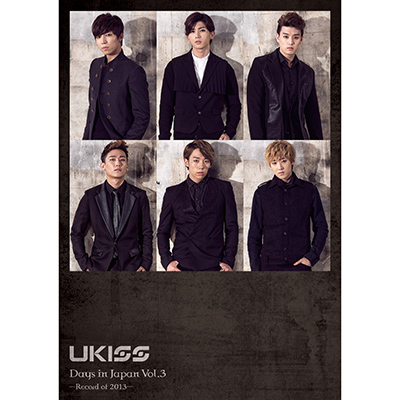 U-KISS Days in Japan vol.3(DVD)