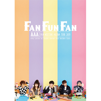 AAA FAN MEETING ARENA TOUR 2019 ~FAN FUN FAN~(2枚組DVD)