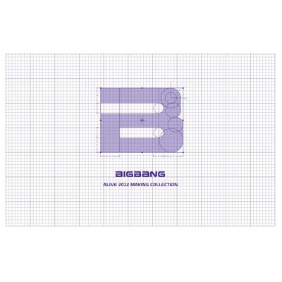 BIGBANG's ALIVE 2012 MAKING COLLECTION(5枚組DVD)