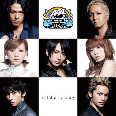 「Hide-away」横浜アリーナ記念盤