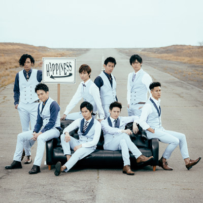 Happiness【SOLID盤】(CD+DVD)