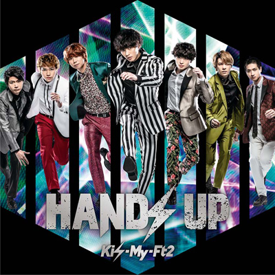 HANDS UP【初回盤B】(CD+DVD)