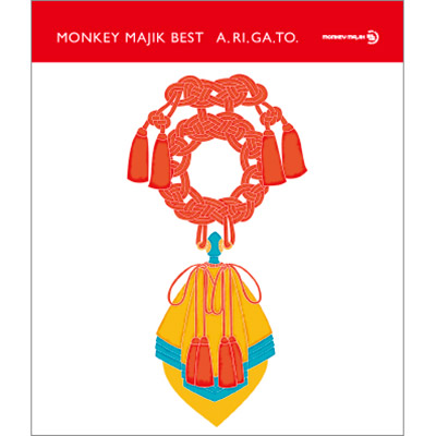 MONKEY MAJIK BEST - A.RI.GA.TO -(CD+Blu-ray)