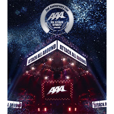 AAA 2nd Anniversary Live -5th ATTACK 070922- 日本武道館