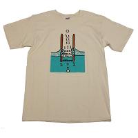 BOREDOMS 111BOADRUM Tシャツ ナチュラル