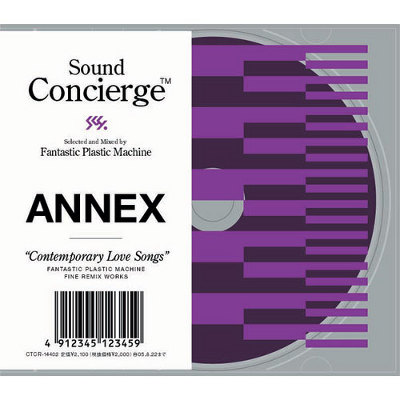 """Sound Concierge Annex """"Contemporary Love Songs"""" selected and Mixed by Fantastic Plastic Machine  Fantastic Plastic Machine Fine Remix Works"""
