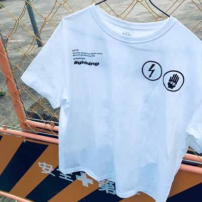 ビックシルエットTシャツ(White)
